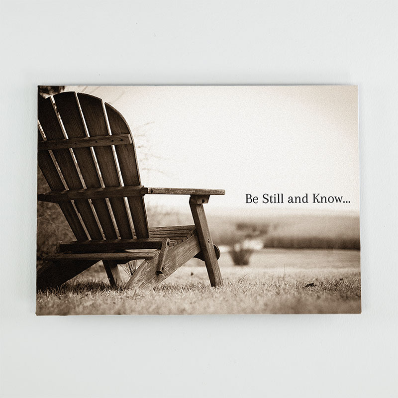 Be Still and Know - Expressions by Kathy Troccoli